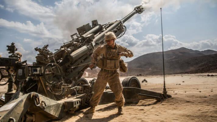 U.S. Marines während einer Übungseinheit in Dschibuti. Das kleine Land beherbergt den größten US-Militärstützpunkt in Afrika.  |  Bild: © Marines [CC BY-NC 2.0]  - flickr