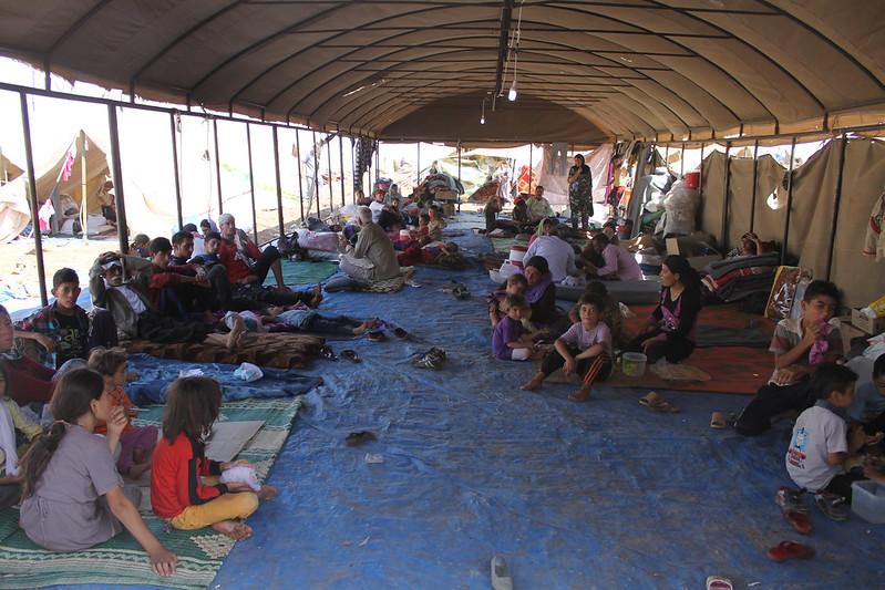 Jesiden Flüchtlingscamp