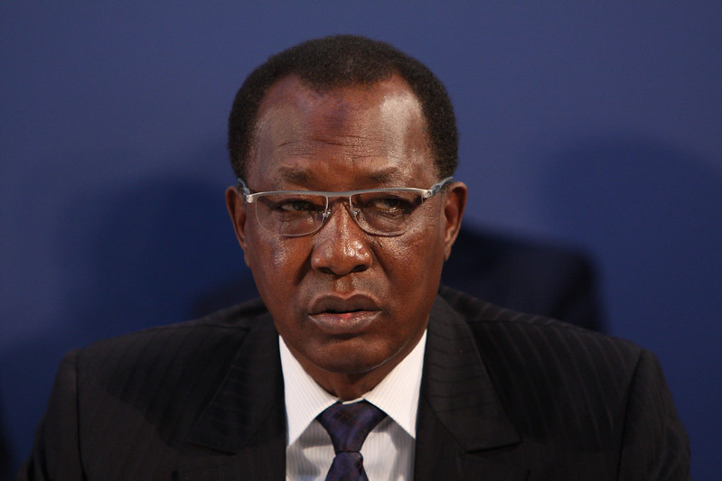 Präsident Idriss Déby Itno Tschad