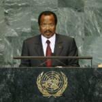 Paul Biya Präsident Paul Biya regiert Kamerun schon seit 1982. | Bild (Ausschnitt): © United Nations Photo [CC BY-NC-ND 2.0] - Flickr