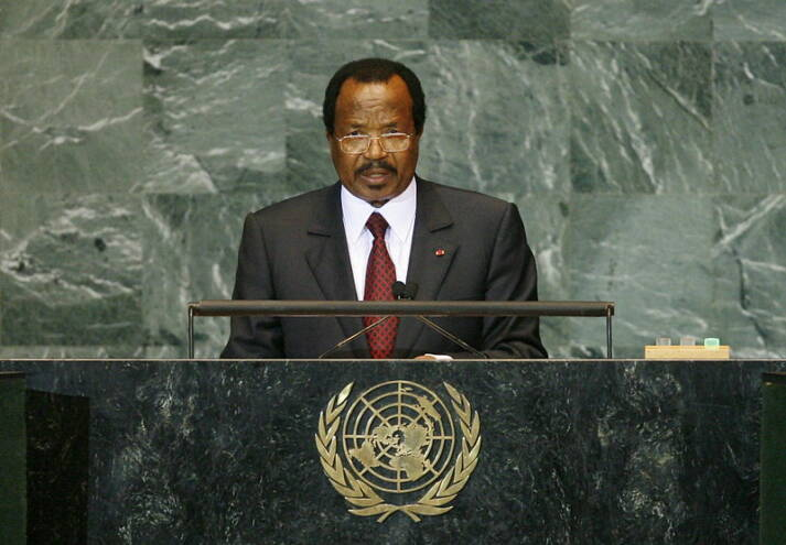 Paul Biya Präsident Paul Biya regiert Kamerun schon seit 1982. |  Bild: © United Nations Photo [CC BY-NC-ND 2.0]  - Flickr