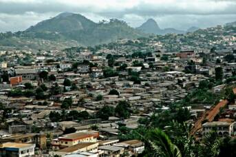 Kamerun Yaounde Hauptstadt