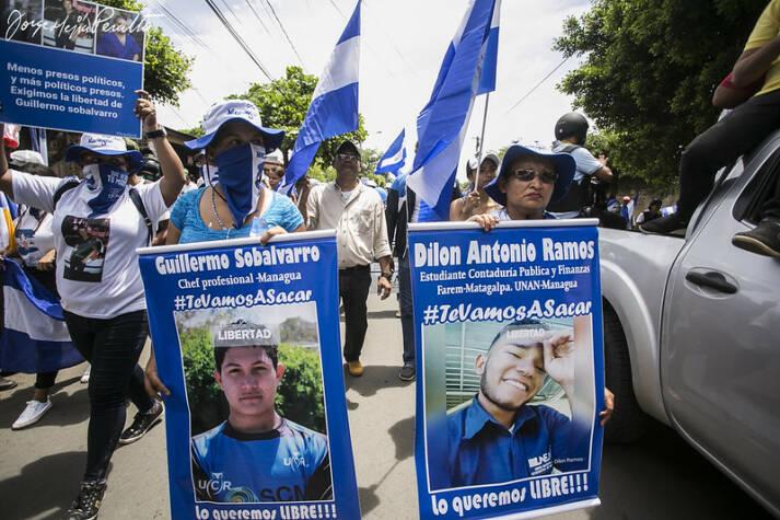 Nicaragua Proteste Seit April 2018 demonstrieren viele Nicaraguaner gegen das Regime unter Präsident Ortega.  |  Bild: © Jorge Mejía peralta [CC BY 2.0]  - Flickr