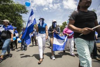 Nicaragua Proteste Demonstration