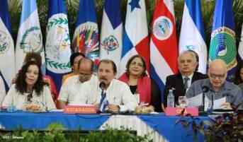 Nicaragua Präsidentenpaar