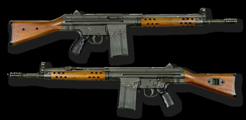 G3-Schnellfeuergewehr