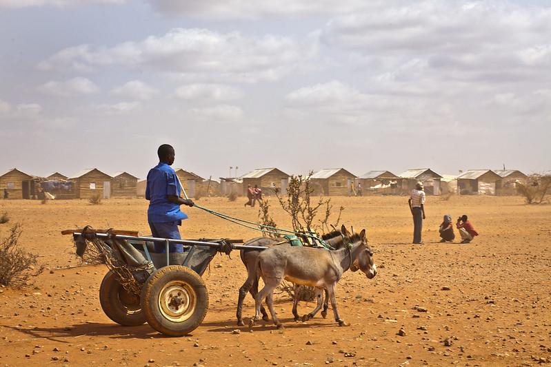 Flüchtlinge im Geflüchtetenlager Buramino, Äthiopien