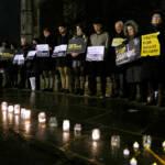 Ein stiller Protest für die Opfer des ägyptischen Regimes.