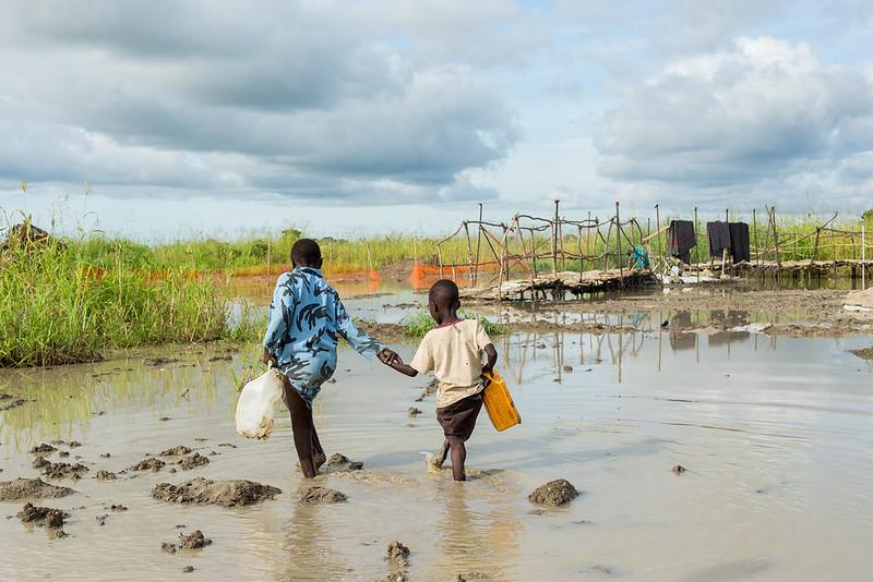 Überschwemmung im Südsudan