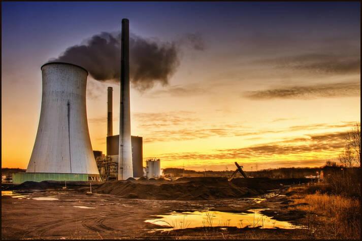 Atomkraftwerk  Bild: © Wolfgang Staudt [CC BY-NC 2.0]  - flickr