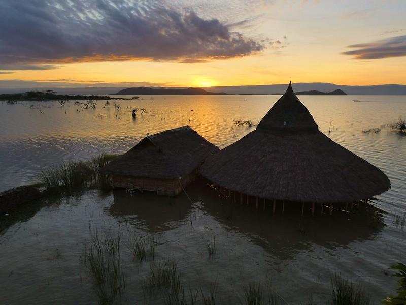 Baringosee in Kenia