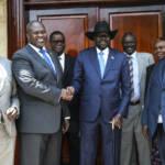 Friedensbeschluss zwischen Machar und Kiir Ein Jahr nach der neu gebildeten Regierung ist die humanitäre Situation im Südsudan immer noch katastrophal | Bild (Ausschnitt): © UNMISS [CC BY-NC-ND 2.0] - flickr