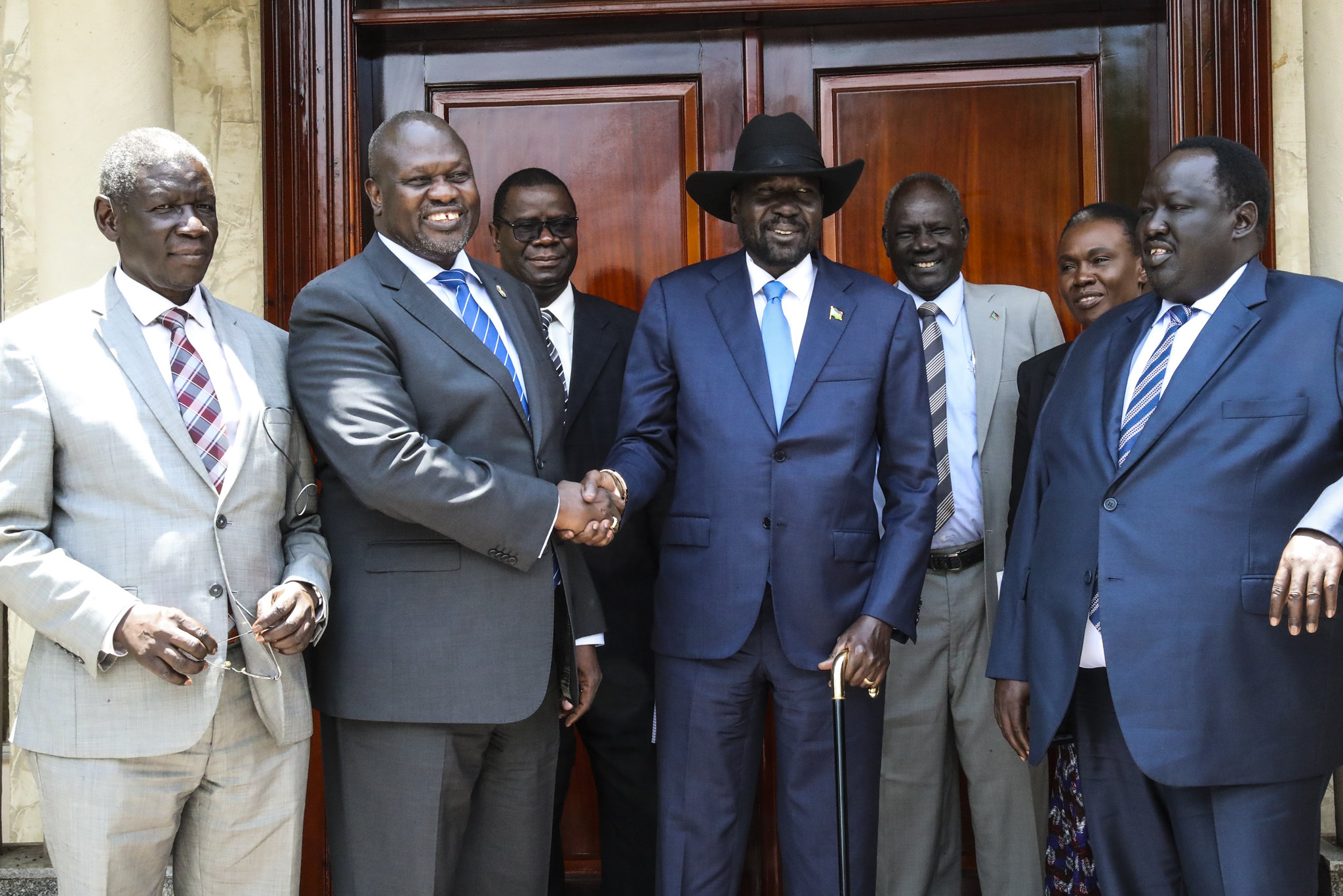 Friedensbeschluss zwischen Machar und Kiir