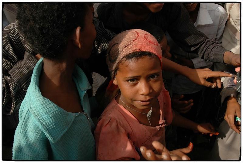 Mädchen in Jemen