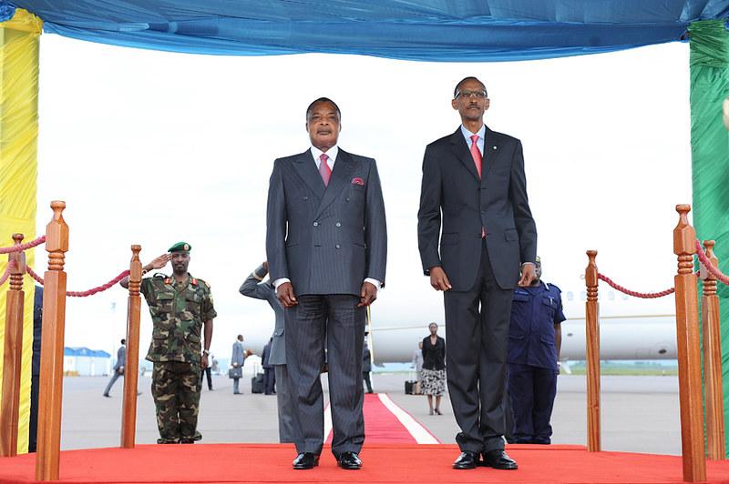 Denis Sassou-Nguesso - präsident der Republik Kongo