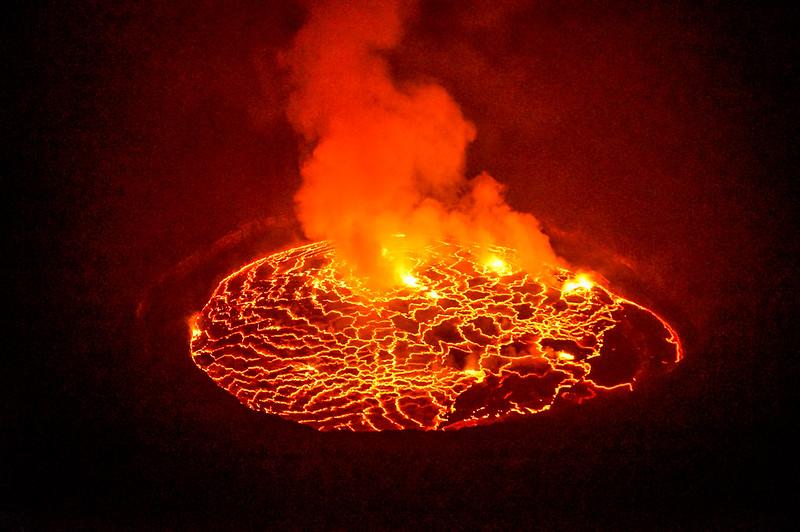Vulkan Nyiragongo