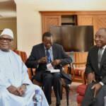 Ibrahim Boubacar Keïta Ex-Präsident Ibrahim Boubacar Keïta (links im Bild) fiel dem ersten Staatsstreich von Assima Goïta zum Opfer | Bild (Ausschnitt): © GovernmentZA [CC BY-ND 2.0] - Flickr