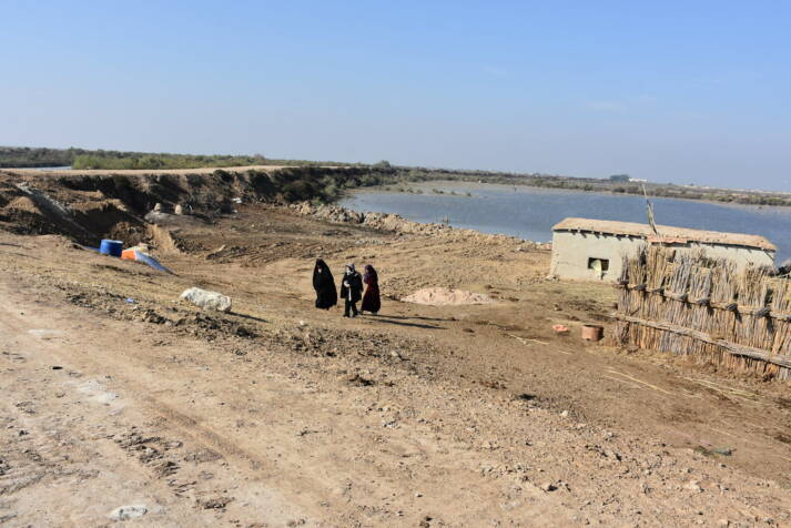 """Trockene Landschaft im Irak  Bild: """"Already a water-stressed country, water scarcity is increasing with climate change"""" © UNDP Iraq [CC BY-NC 2.0]  - flickr"""